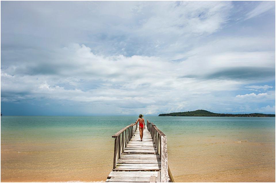 clear water beaches koh ta kiev cambodia