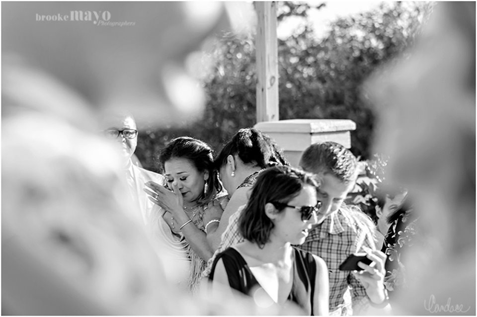 OBX wedding ceremony