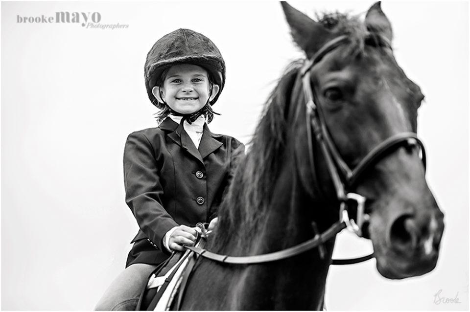 Kid horse show circut