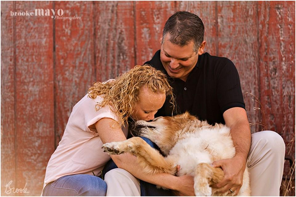 barn family portraits