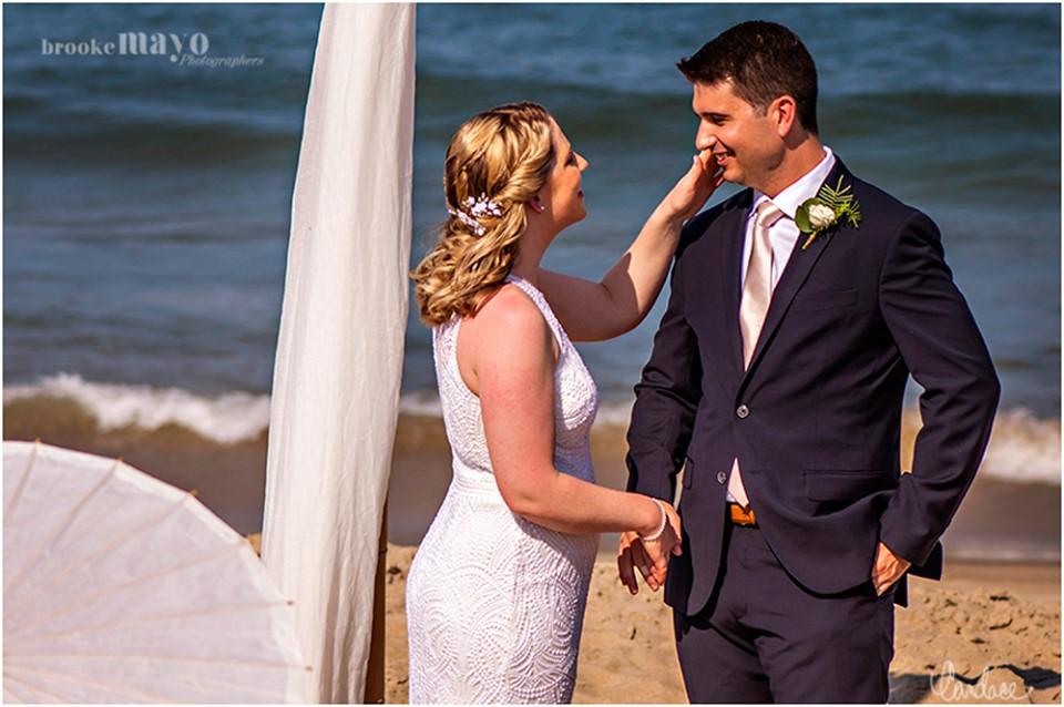 Sanderling Resort Beach Wedding