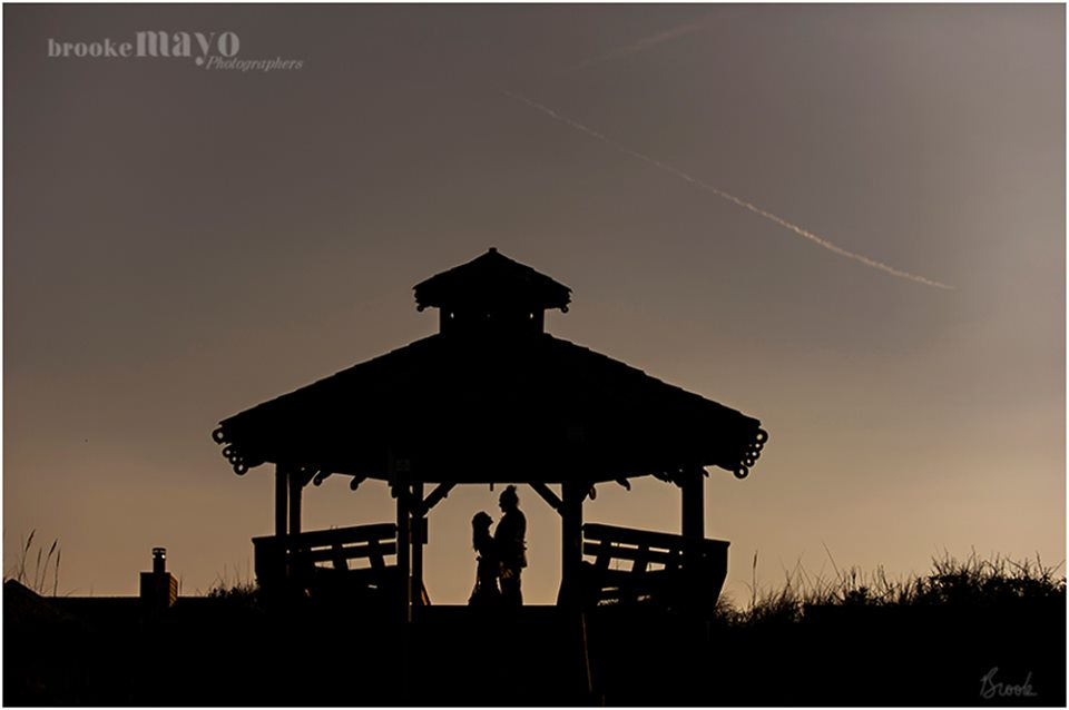 OBX Wedding Silhouette