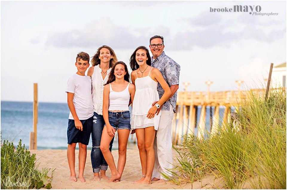 Kitty Hawk Pier Family Portraits