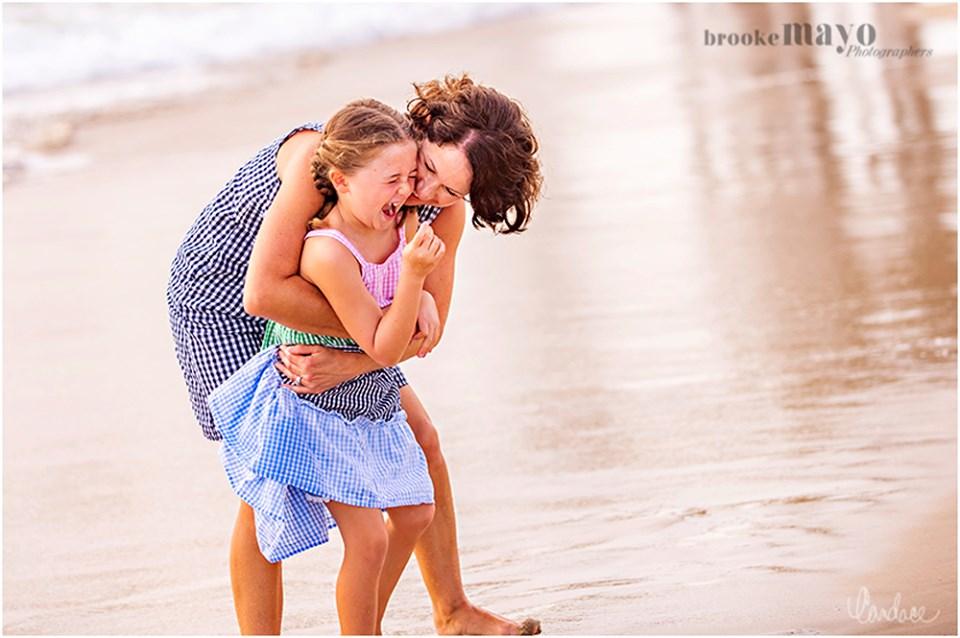 mother daughter beach portraits