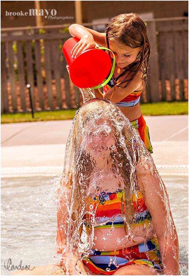 Wednesday Splash Portraits at the Sanderling Resort