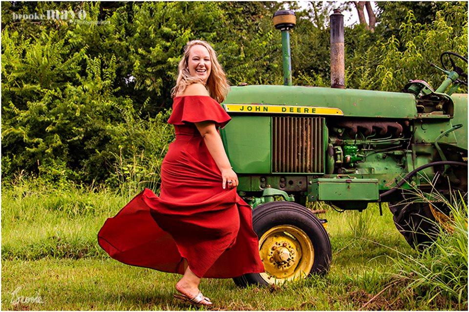 NC Farm Senior Portraits