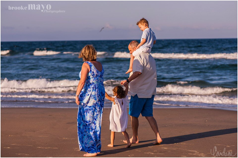 Outer Banks Fall Family Beach Portraits