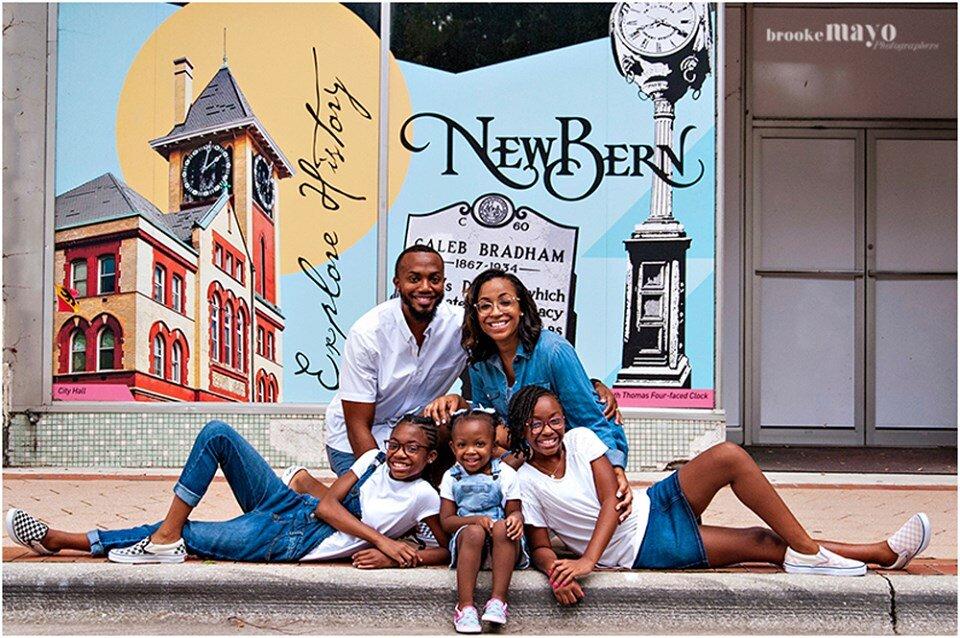 New Bern NC Family Portraits
