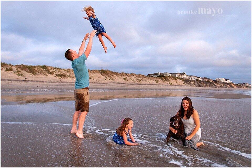 Outer Banks Beach Family Portraits Corolla