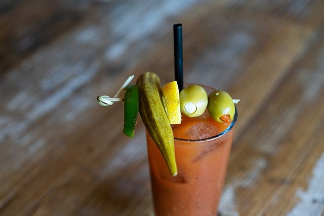 Brunch bunch.  Our house-made bloody mary awaits you!