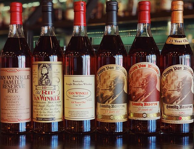 We'll be hosting a Pappy Van Winkle tasting dinner on January 14th and we want you to join us. Tickets and information are available on our website or at pappytwp.eventbrite.com