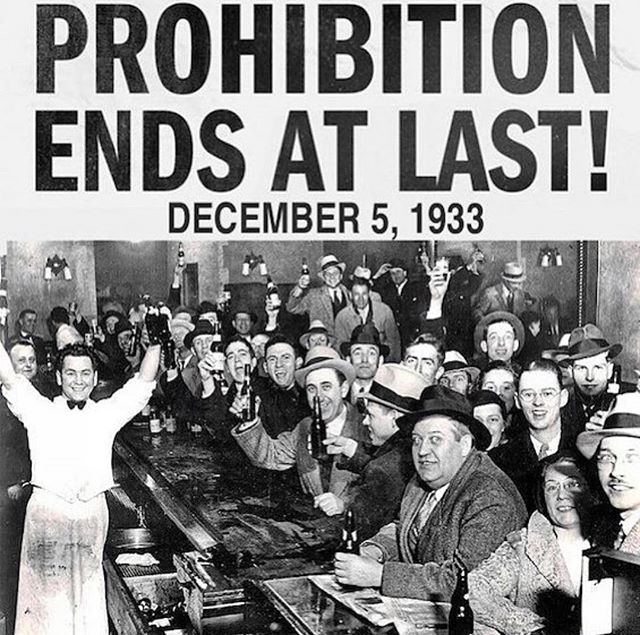 Happy Repeal Day ladies and gents! Let's raise a glass to 85 years of the 21st Amendment!