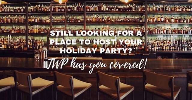 Need a last-minute place to have your holiday party? You're in luck, because The Whiskey Project still has some availability through the holiday season! If you'd like to schedule with us, call (678) 373-1981 and we'll handle the rest