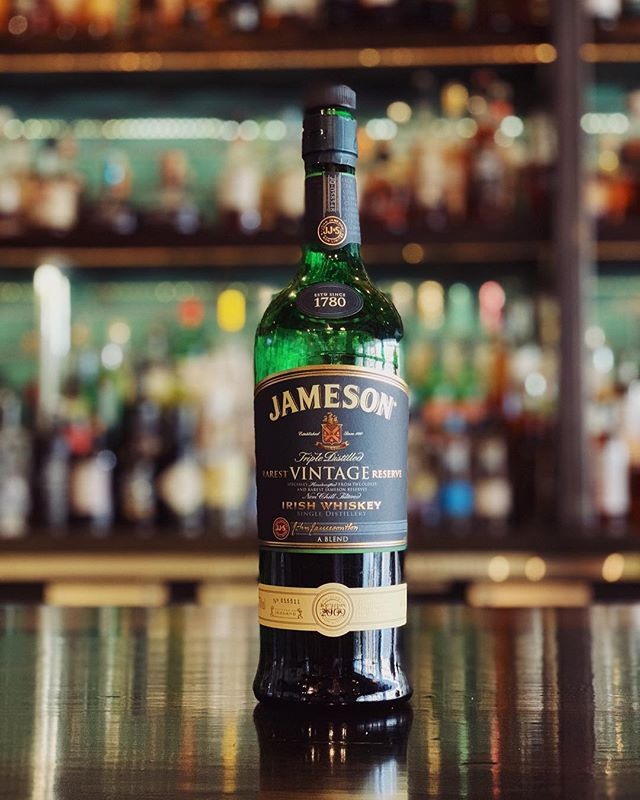 Jameson Rarest Vintage Reserve is crafted from their oldest and rarest whiskeys, including carefully chosen grain whiskey and port pipe-matured pot still whiskey. It's a definite bucket list item for the Irish Whiskey lover and it's available at The Whiskey Project.