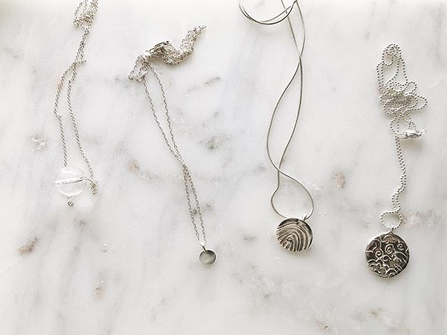 Everyday necklaces in Silver
