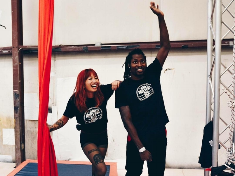 DANCE WITH US - OPEN GYMCome experience new heights with Nouveau Suds' open gym! Every Tuesday, the company holds class at Central Piedmont Community College. Learn skills in Ariel, street dance, basic circus performance art and much more.