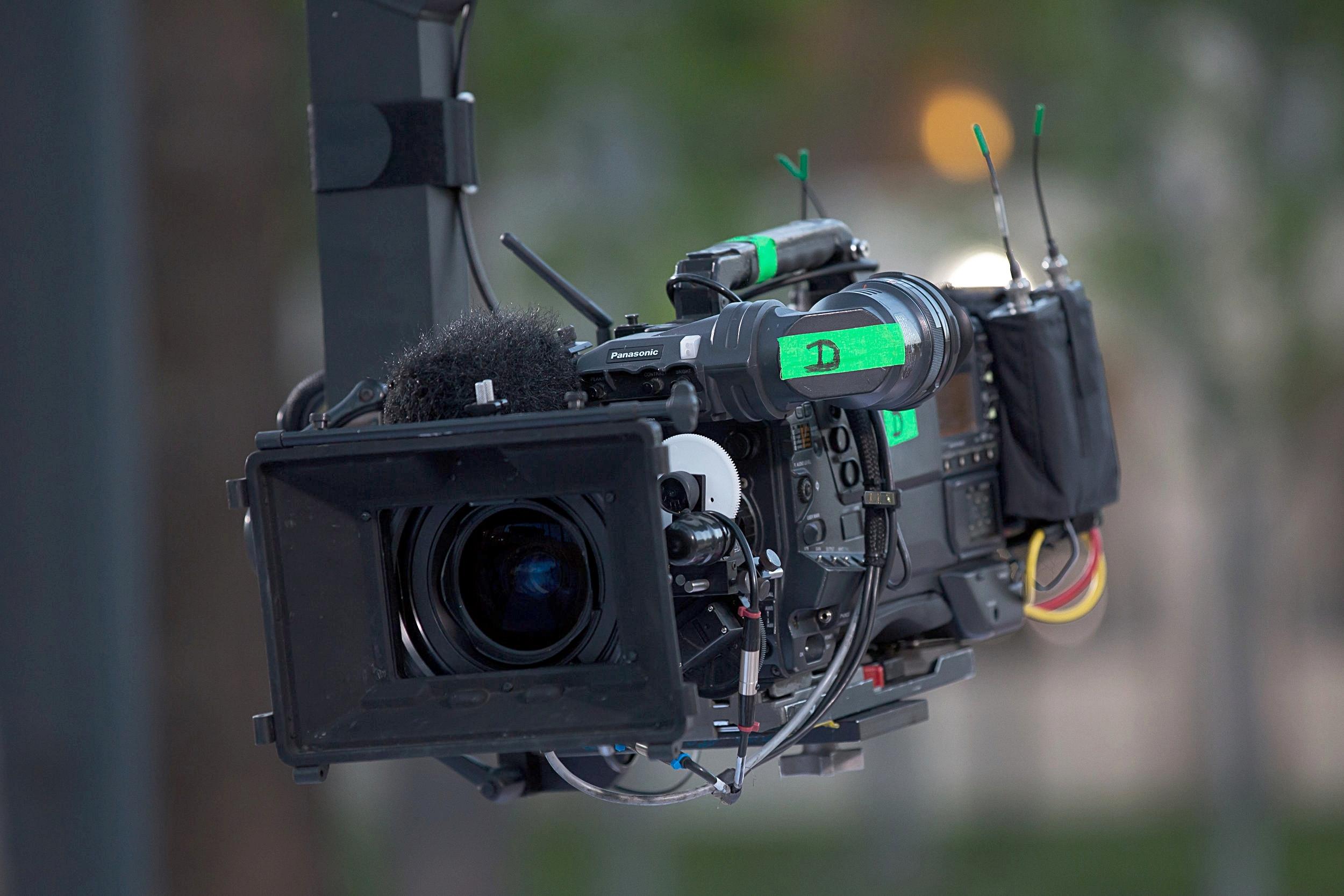 Remote operated Crane camera from pilgrim studios