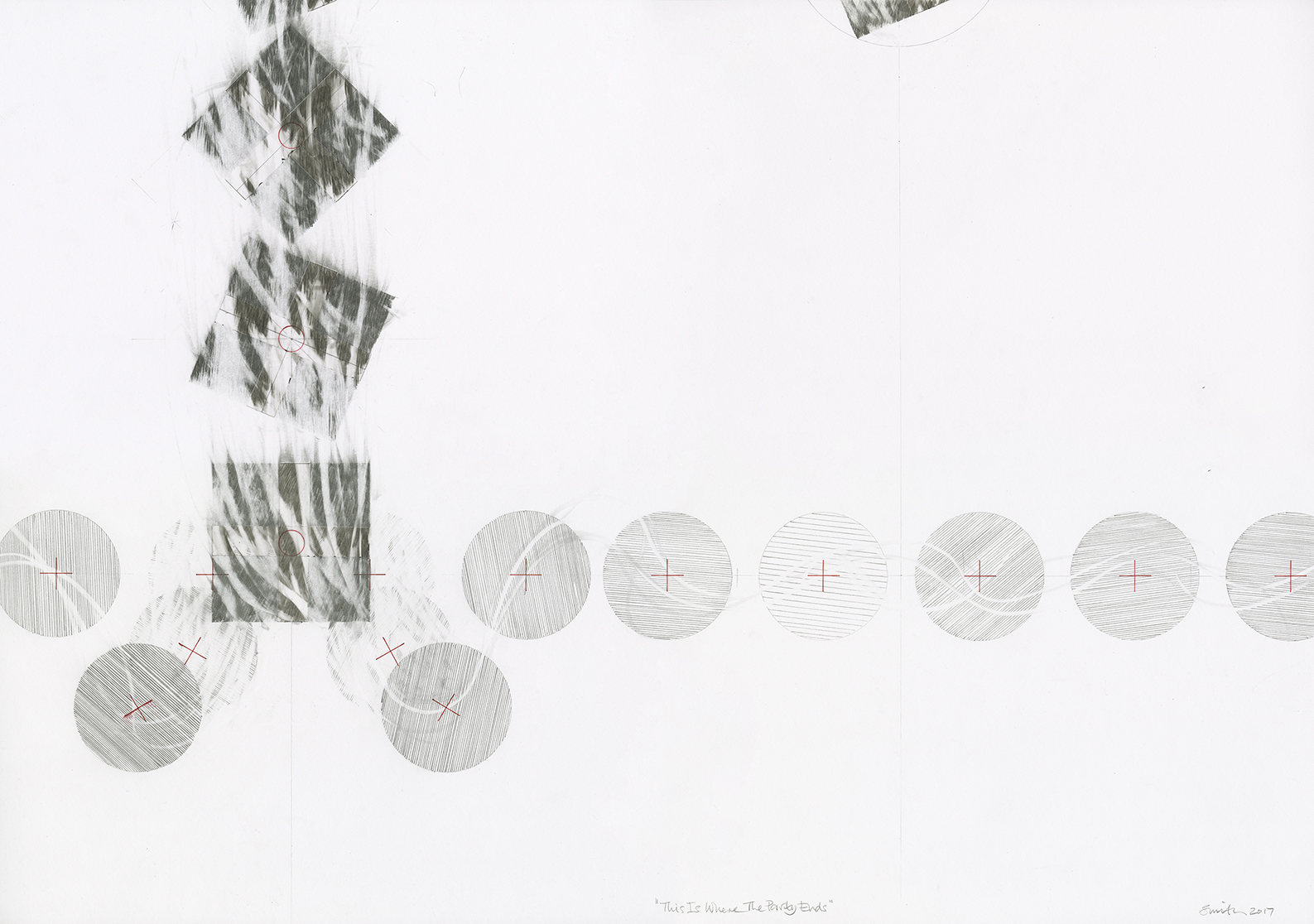 David Smith 'Abstract Drawings For Dummies lll: The Ordering Machine'