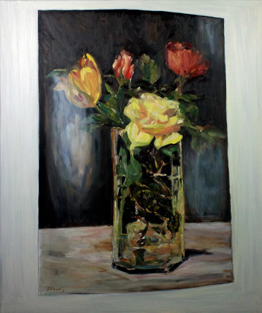 Image © Lara Davies, 'Fleurs dans un Vase' from 'The Last Flowers of Manet'