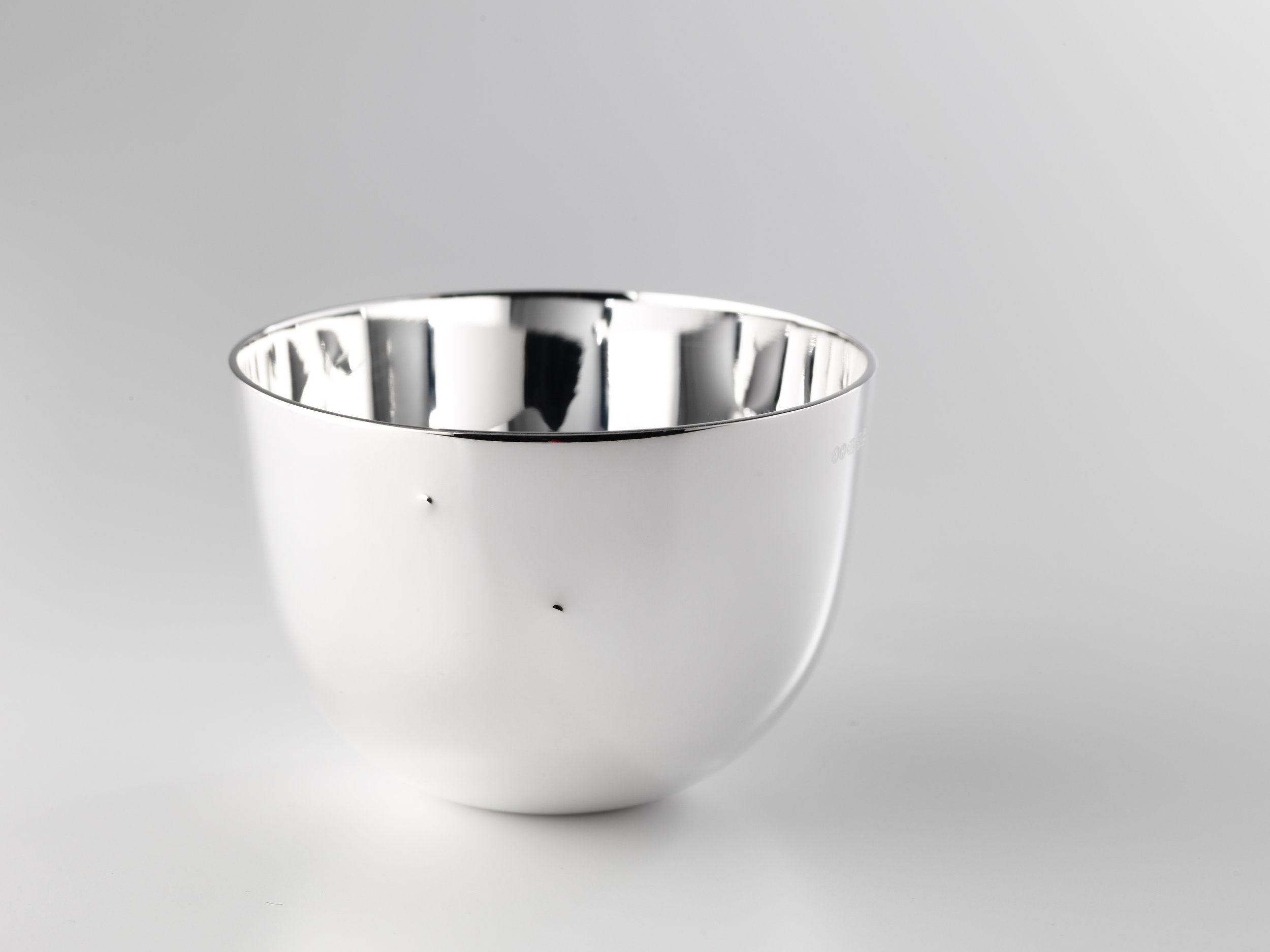Annabel Hood, Simple Touch Tumbler (3D Sterling Silver)