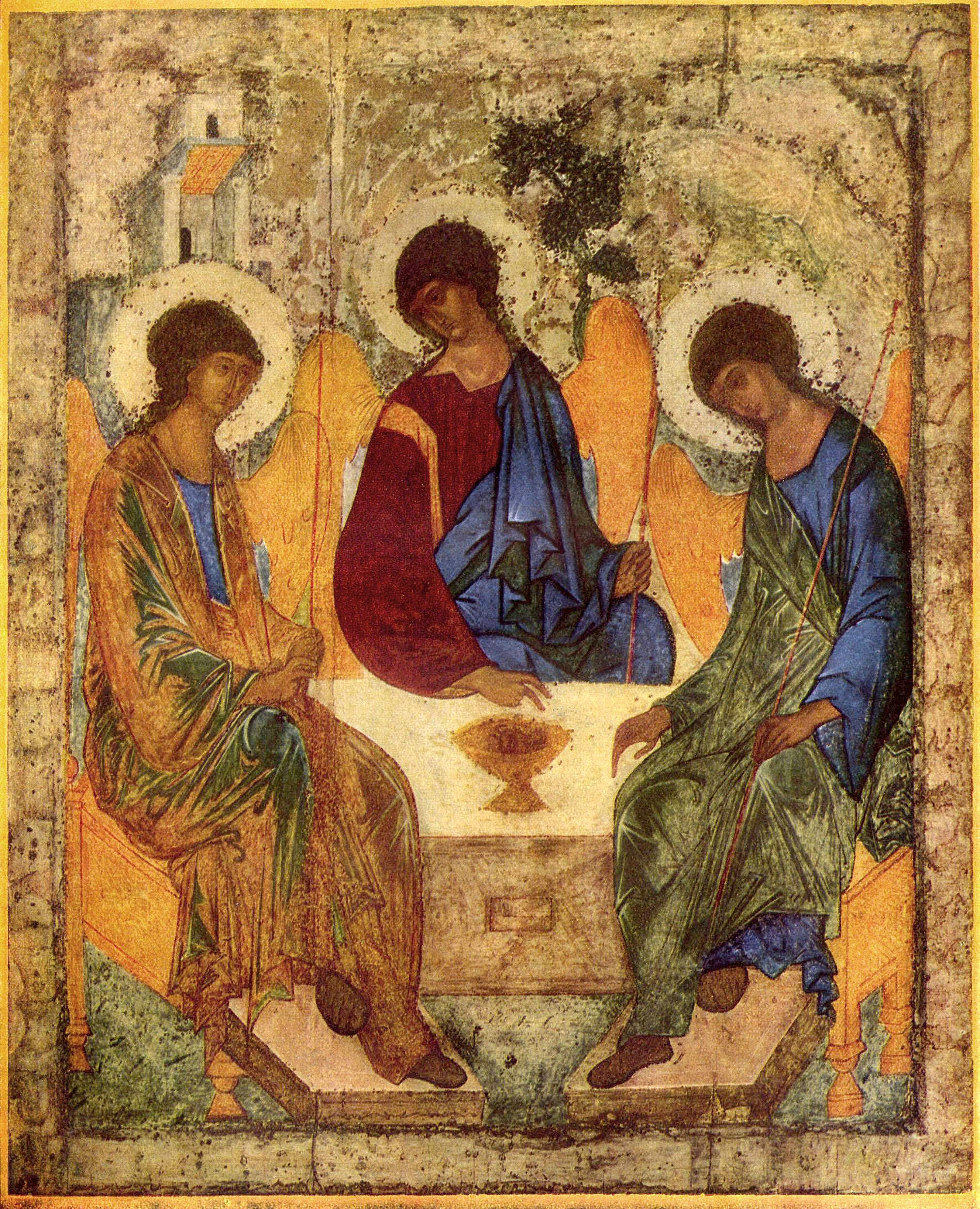 "Trinity Saturday - ""May the grace of the Lord Jesus Christ, and the love of God, and the fellowship of the Holy Spirit . . . """