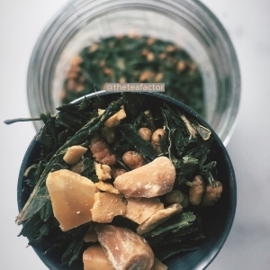 - Genmaicha Roasted Almond Tea