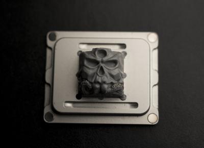 Revthulu - Artisan KeyCap Collab, December 2018 Hunger Work Studio / Death Caps
