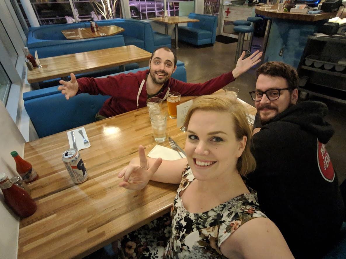 """""""Welcome Diner"""" Selfie"""
