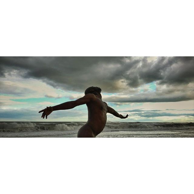 "One of my favorite frames from ""A Guide to Breathing Underwater"", a dance video beautifully directed by @dopevibrations featuring the wonderful @donxmen. Shot on an iPhone 7 and FilmicPro #cinematography #dance #beach #sunset #dancevideo #iphone7 #shotoniphone7 #filmicpro"