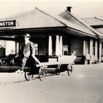 Original Burlington Train Depot