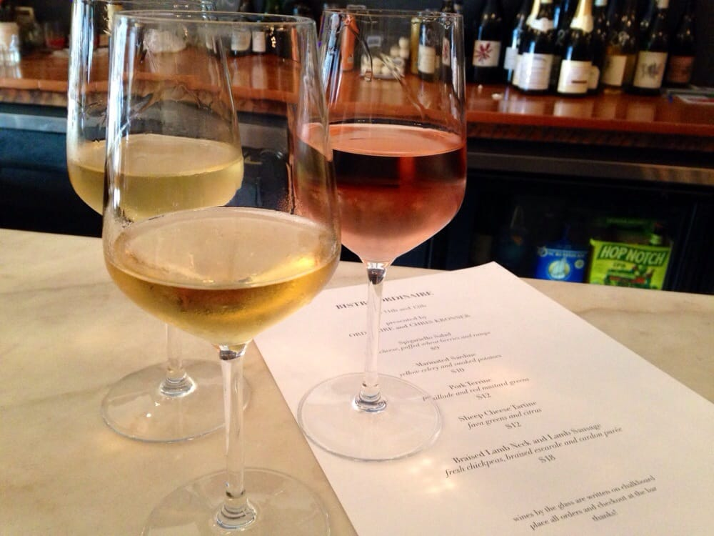 Ordinaire wine bar in Oakland, CA., a great spot to pretend to be French.