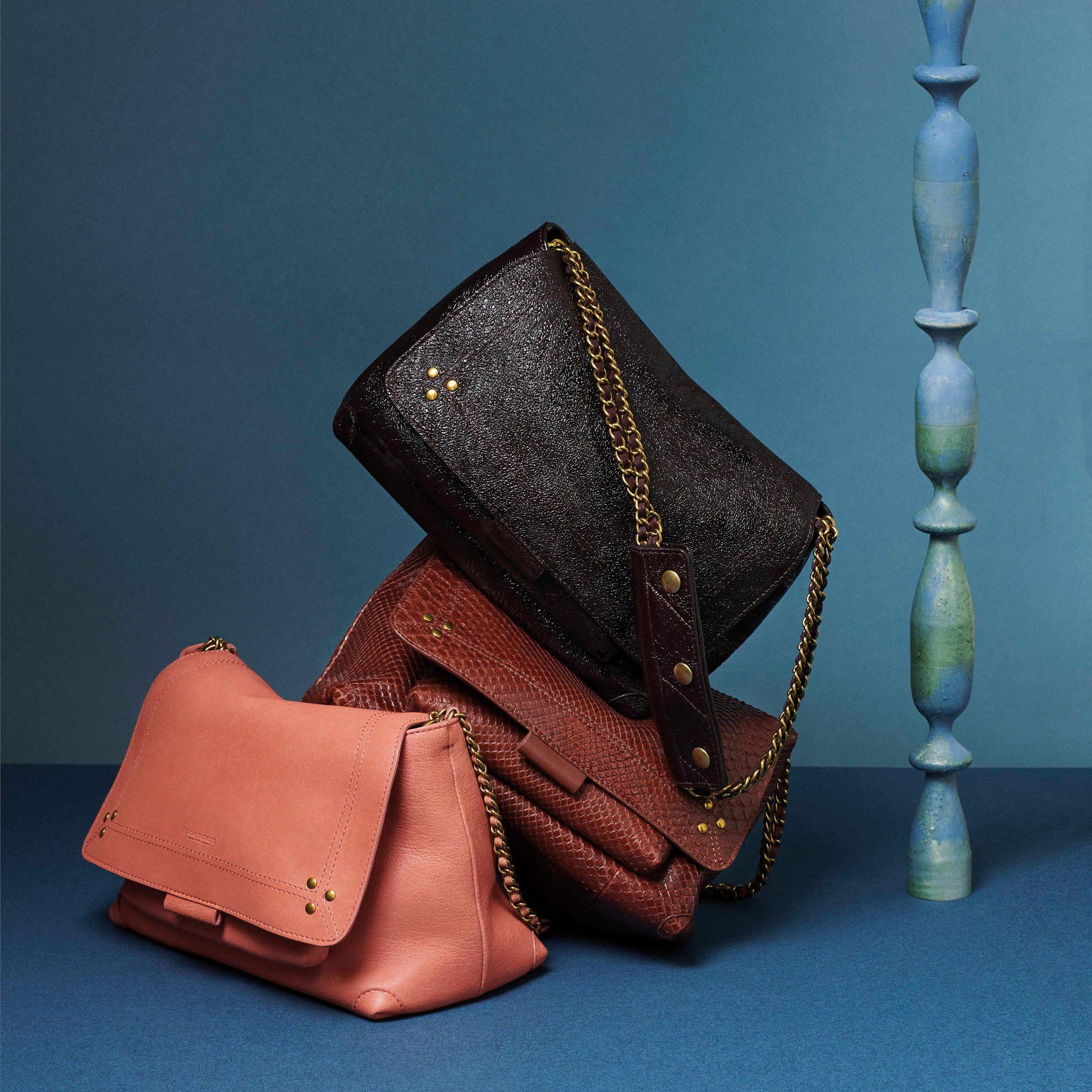 Gorgeous leather bags from Jerome Dreyfuss
