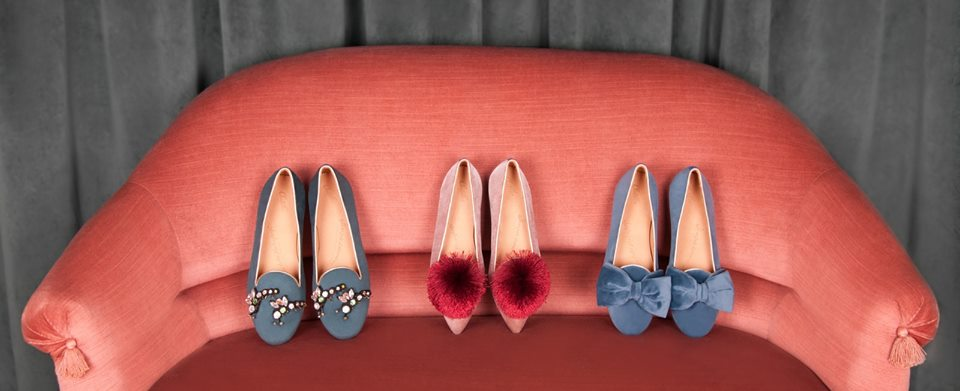 Chatelle's slippers, the stuff wishlists are made of. Photo from their website.