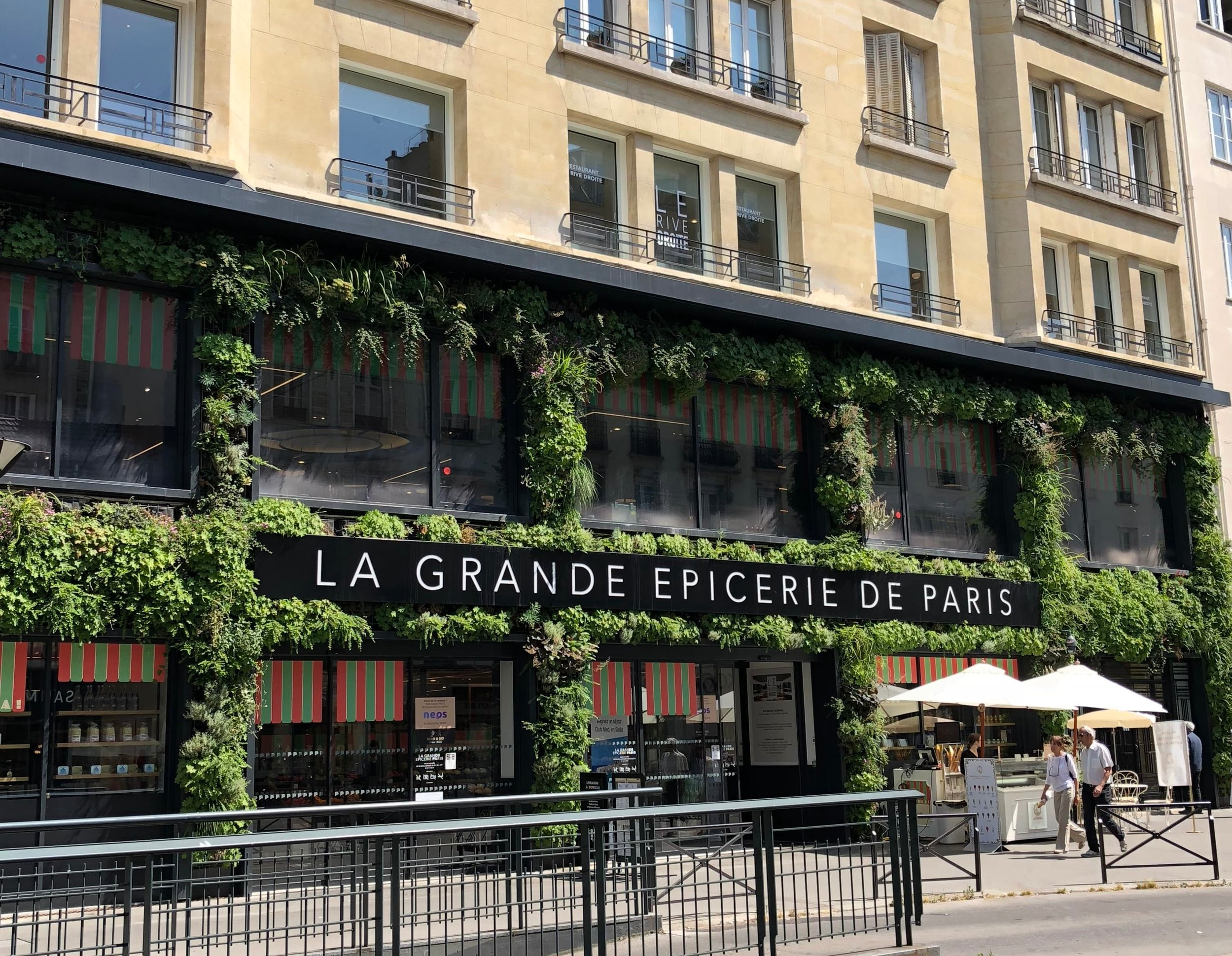 La Grande Epicerie on Rue Passy in the 16th