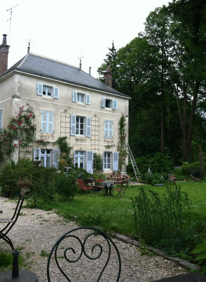 My go-to chambre d'hote in Essoyes, Champagne region .