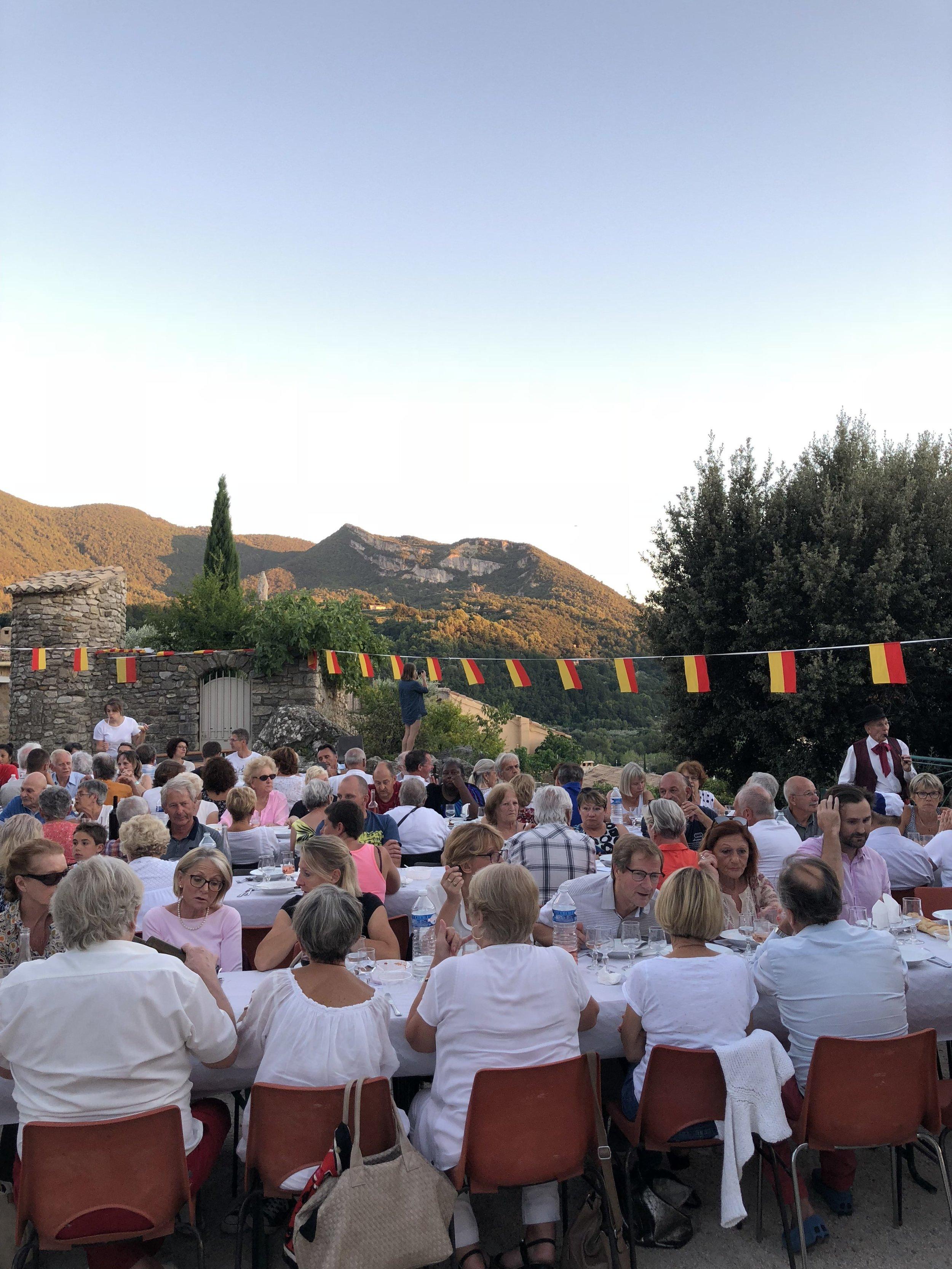 The annual fête de Pistou in mid-August