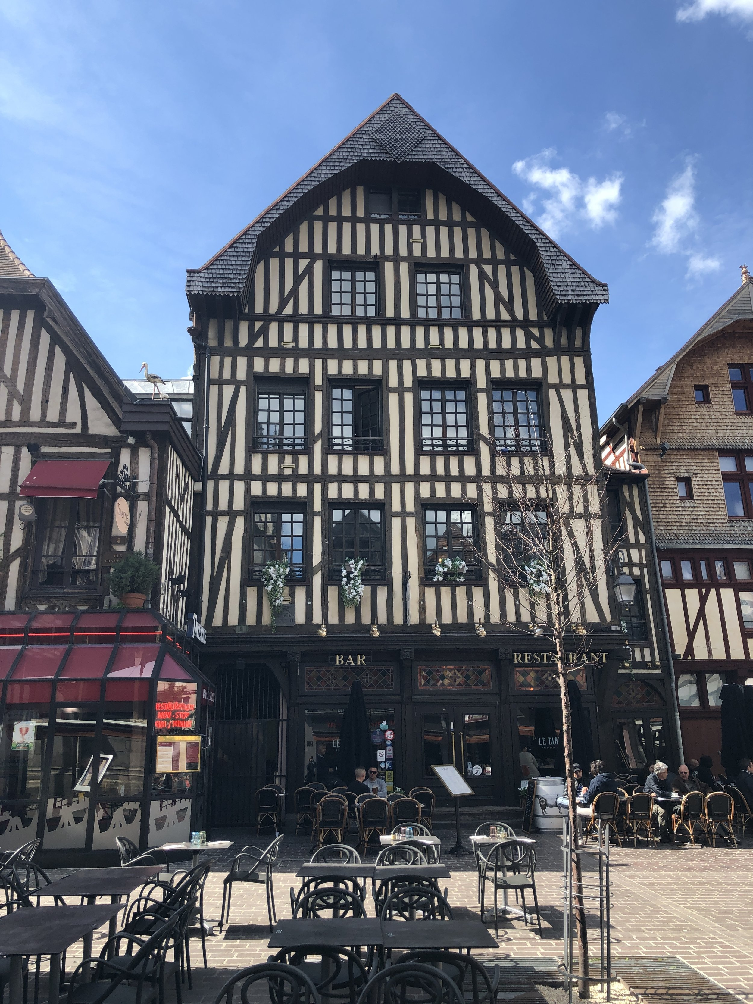 Downtown Troyes