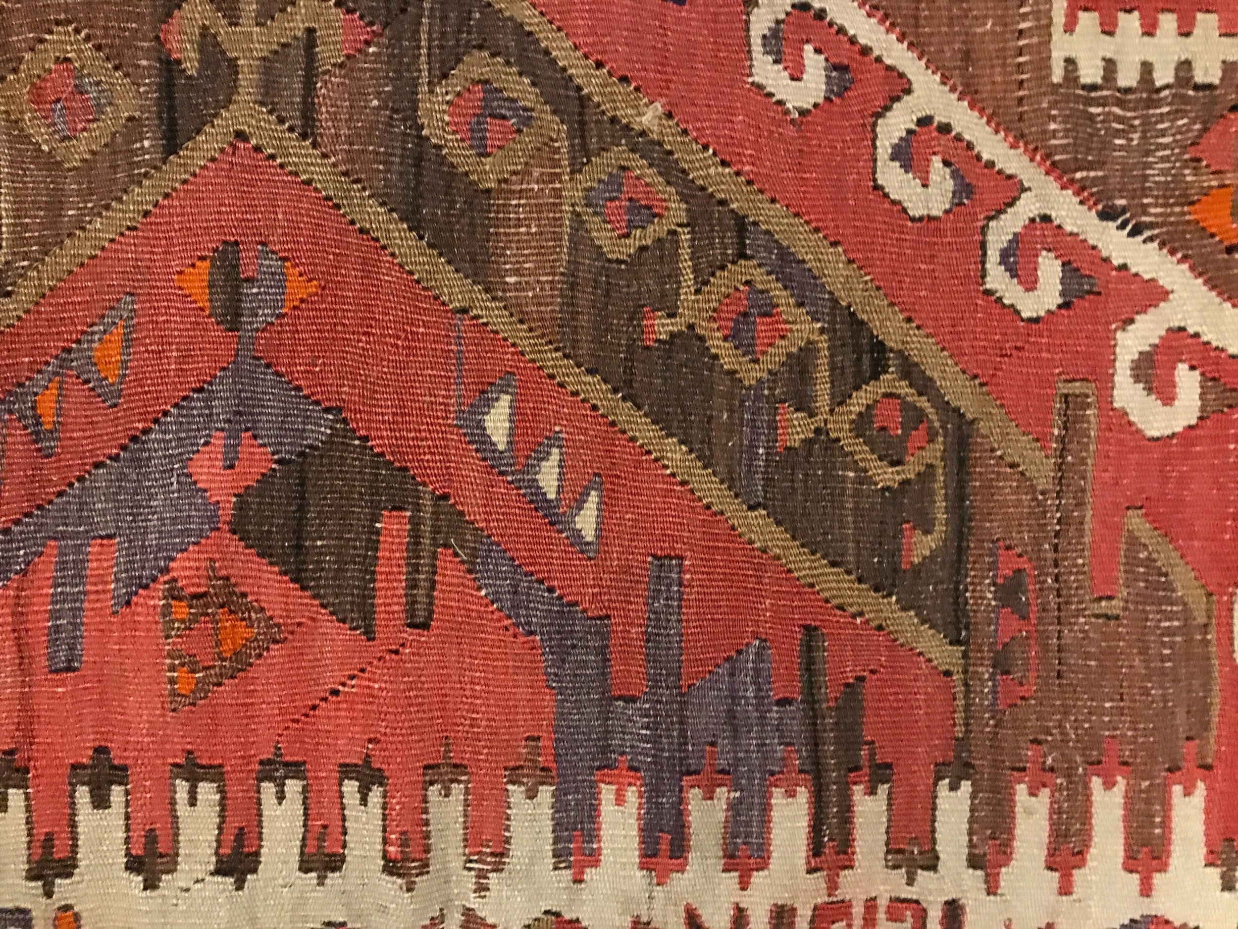 A kilim in the author's home.