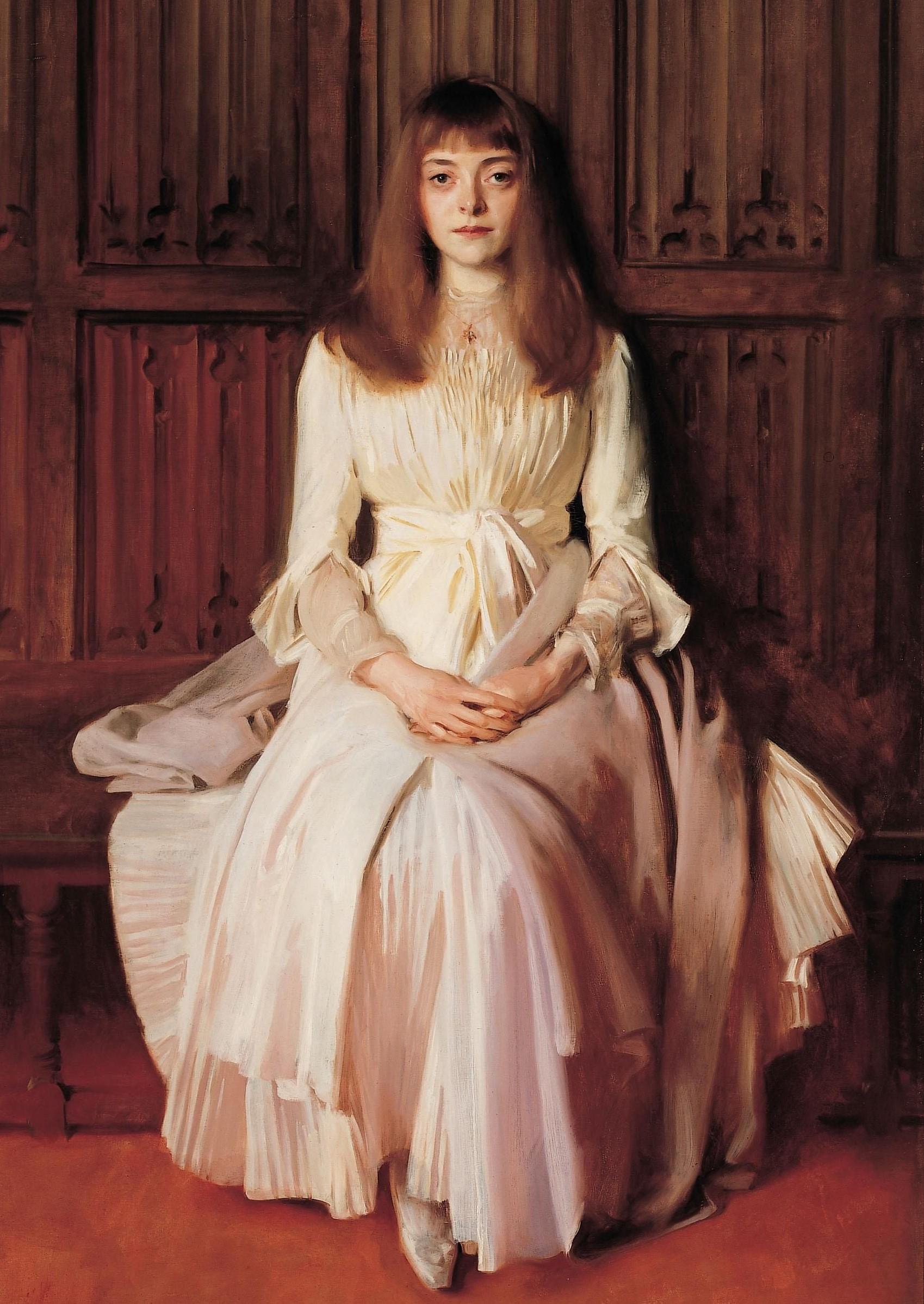 Miss Elsie Palmer , 1890.