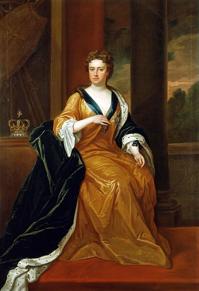 """Queen Anne of Great Britain,"" Charles Jervas."