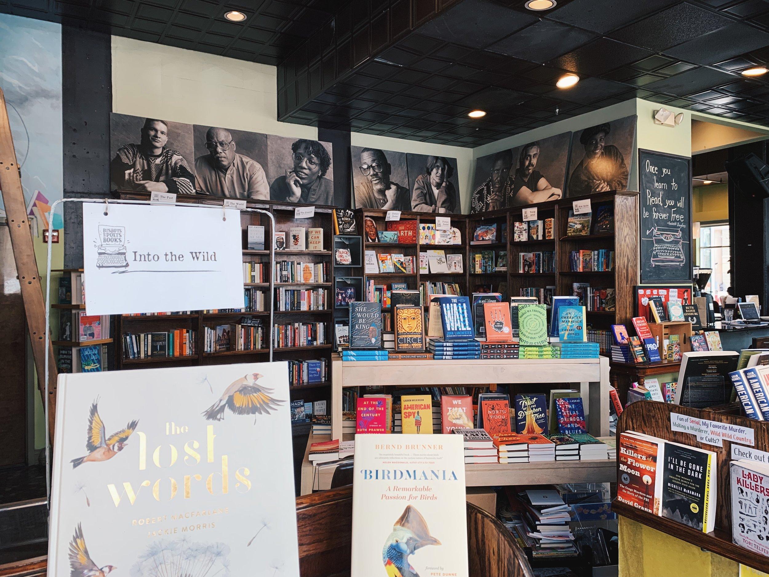 Busboys & Poets Bookshop Washington DC The Attic on Eighth 3.JPG