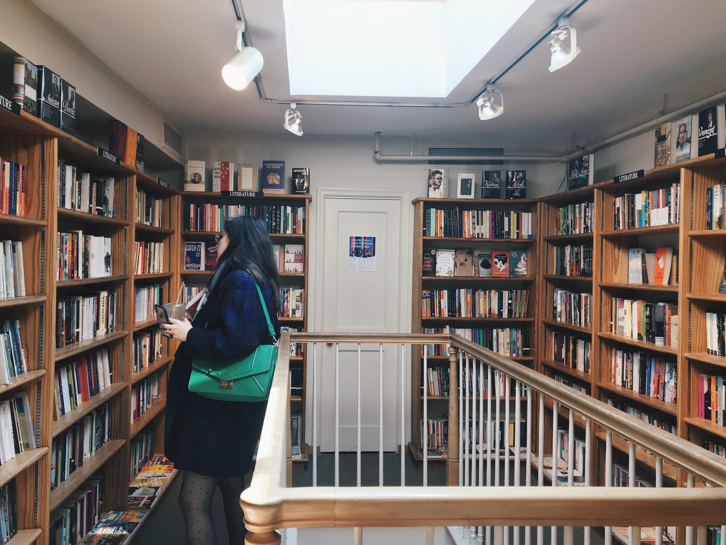 Bridge Street Books Georgetown bookshop The Attic on Eighth 2.JPG