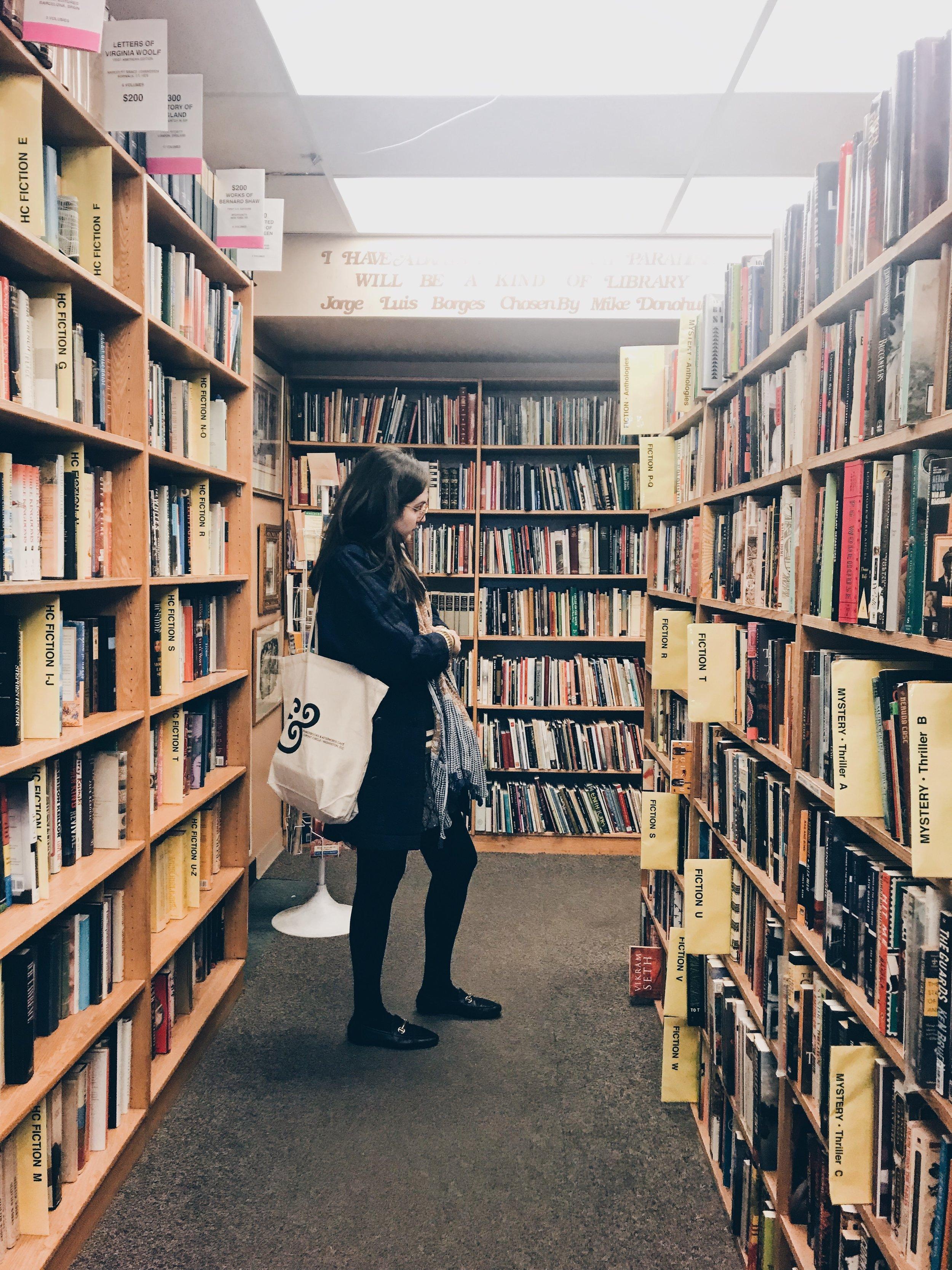 Second Story Books bookshop Washington DC The Attic on Eighth 2.JPG