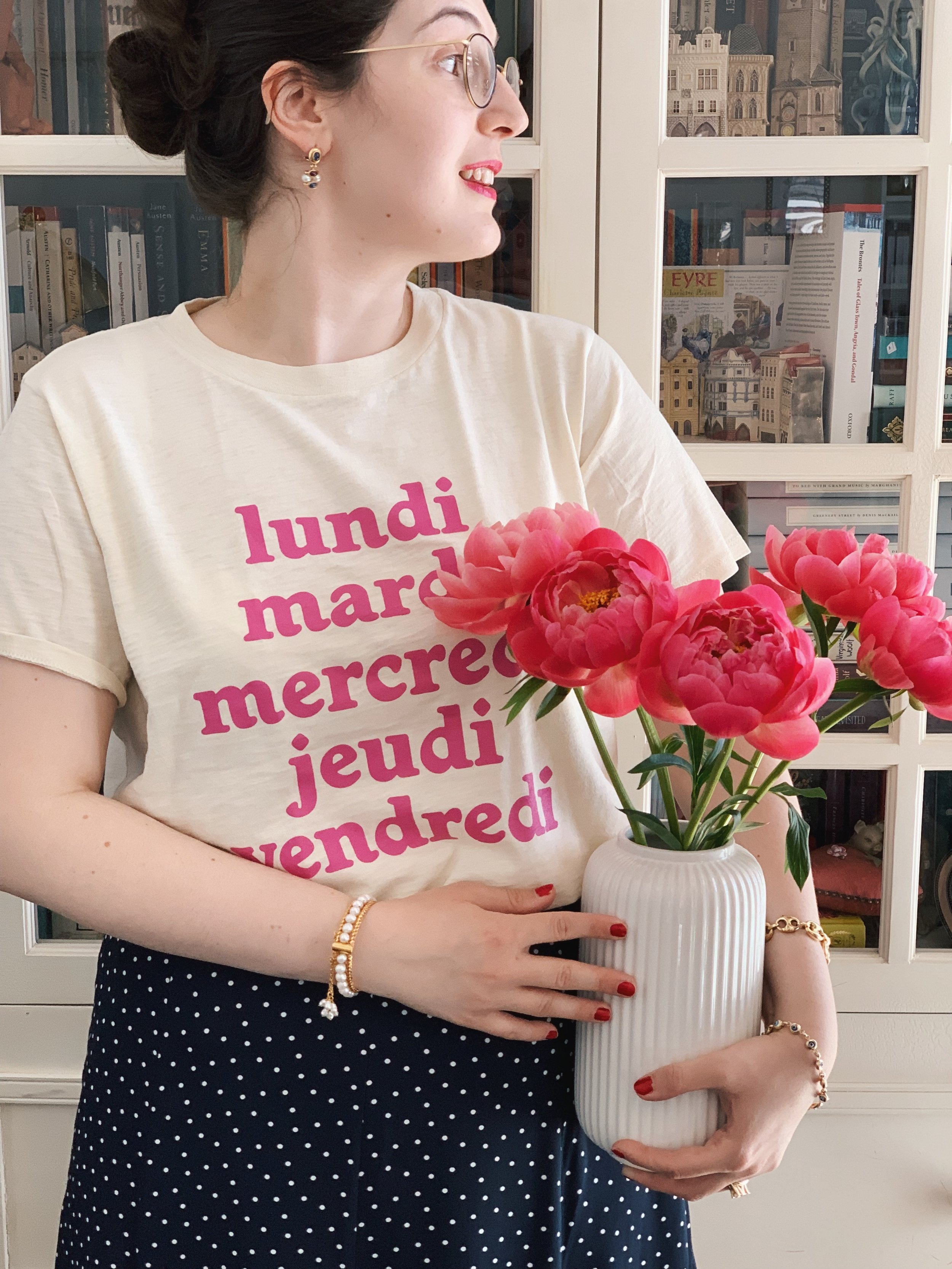The Attic on Eighth Spring Fashion pink peonies.JPG