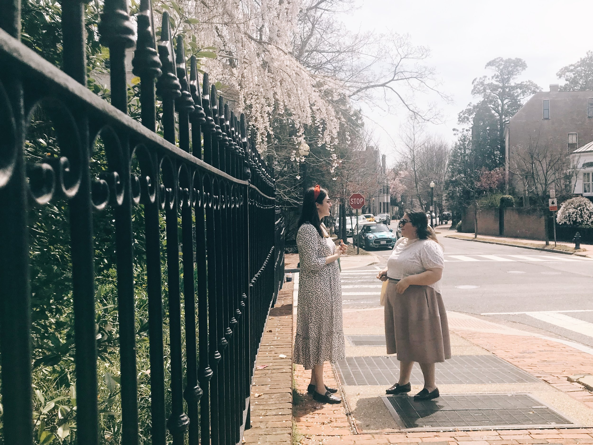 The Attic On Eighth Spring Fashion Floral Polka Dots Raquel Reyes.JPG