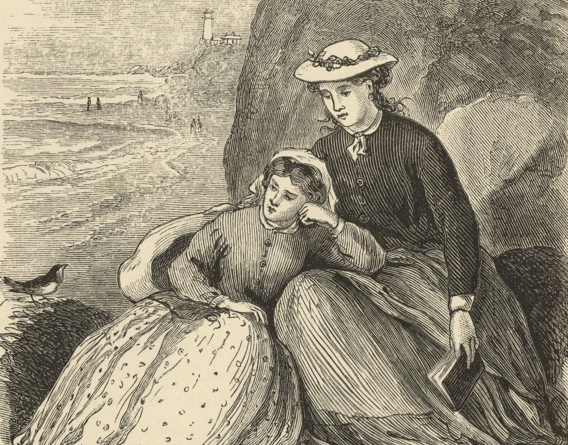 Illustration from  Little Women , volume II, by Louisa May Alcott (1832-1888). Boston: Roberts Brothers, 1869. ( Wikimedia Commons )