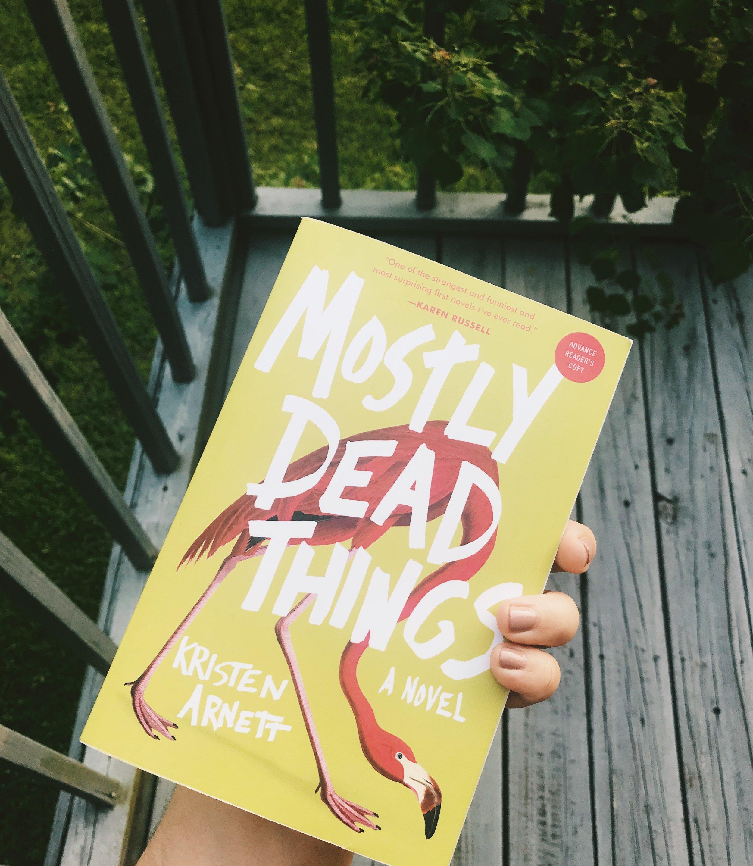 Raquel Reyes Mostly Dead Things Kristen Arnett Book Review.JPG