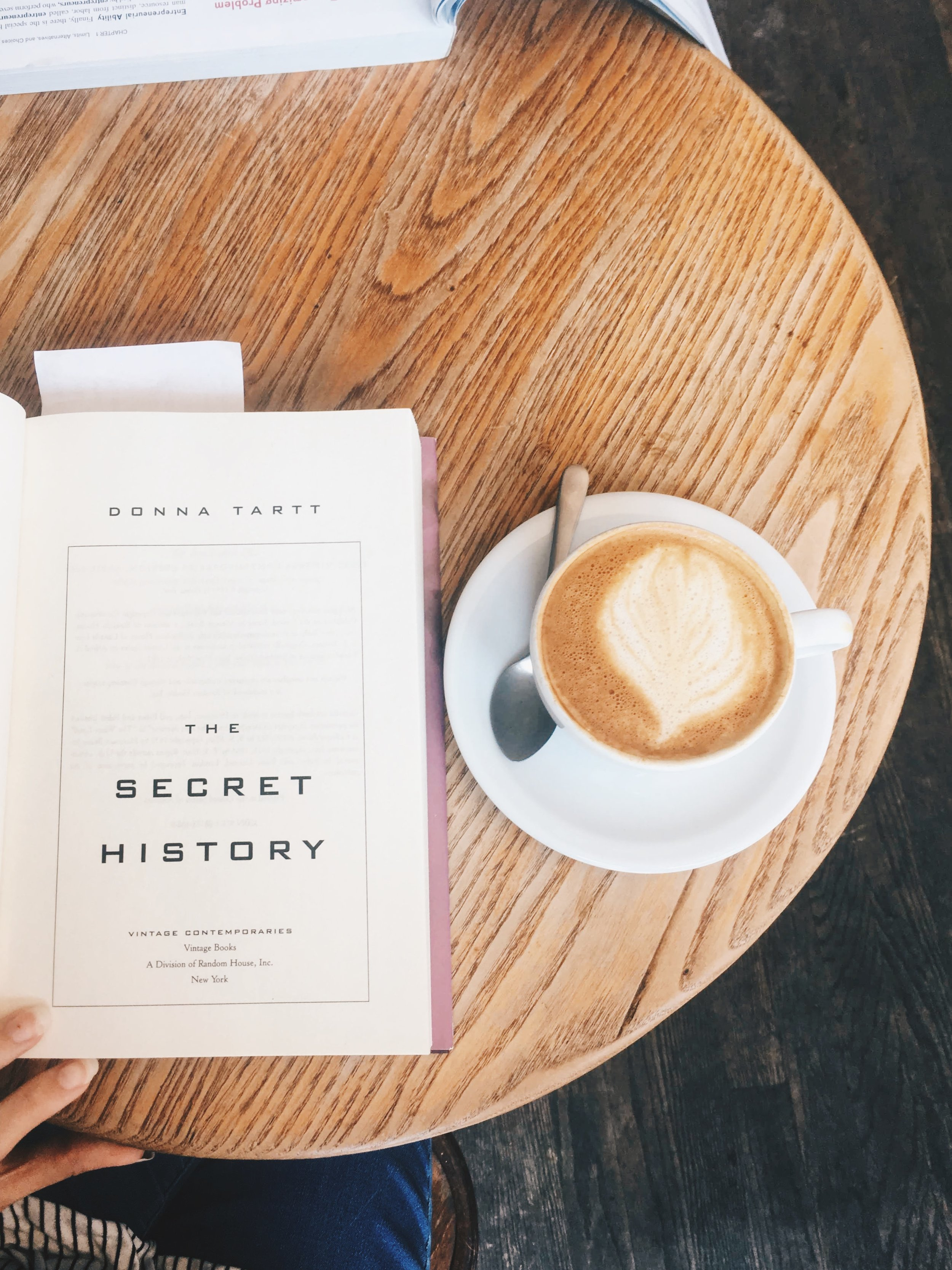 The Attic On Eighth Summer Reads M A McCuen The Secret History Coffee.jpg