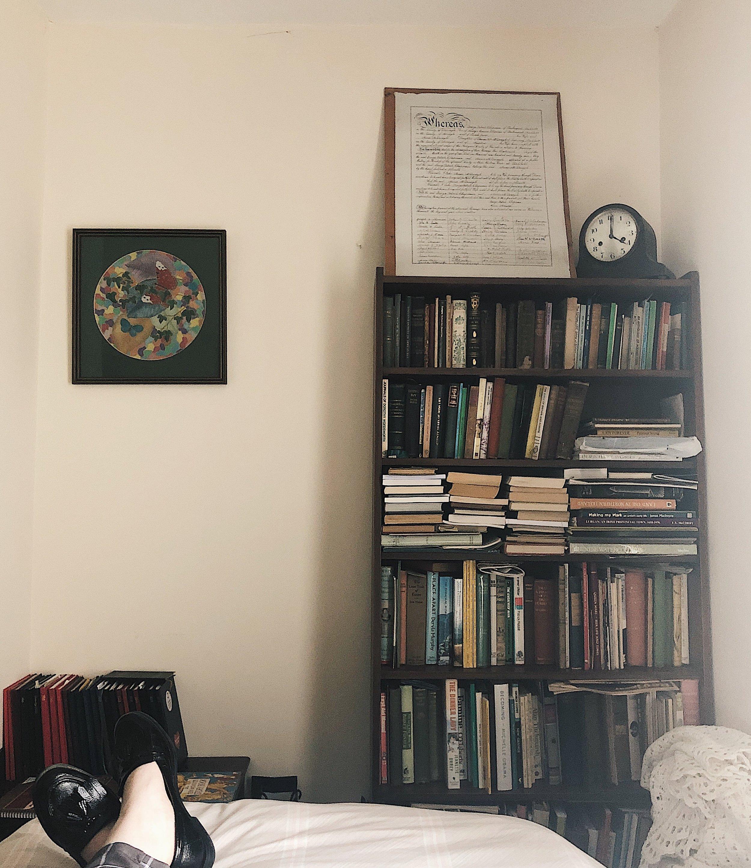 Jessica Armstrong Summer Reads 2019 The Attic on Eighth Bookshelf.JPG