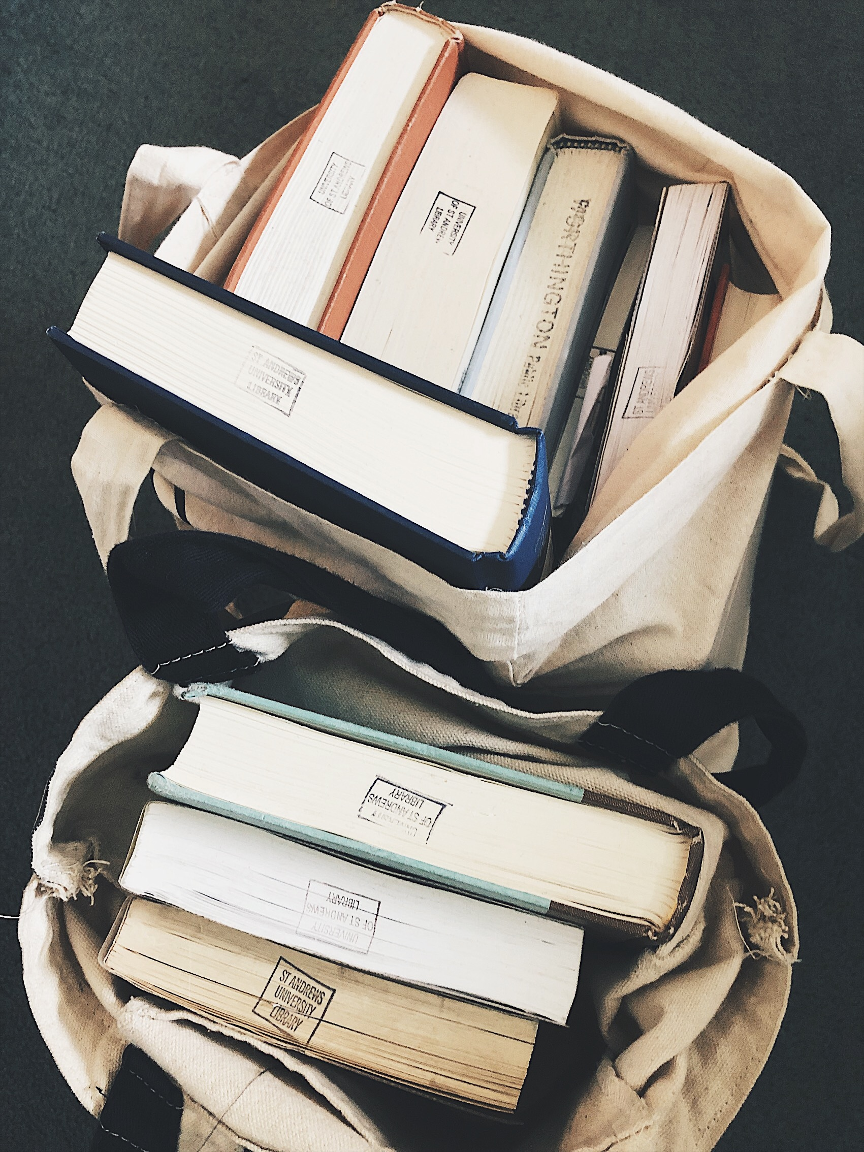 Jessica Armstrong Summer Reads 2019 The Attic on Eighth Book Bags.JPG